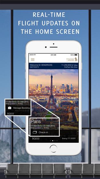Singapore Airlines_App