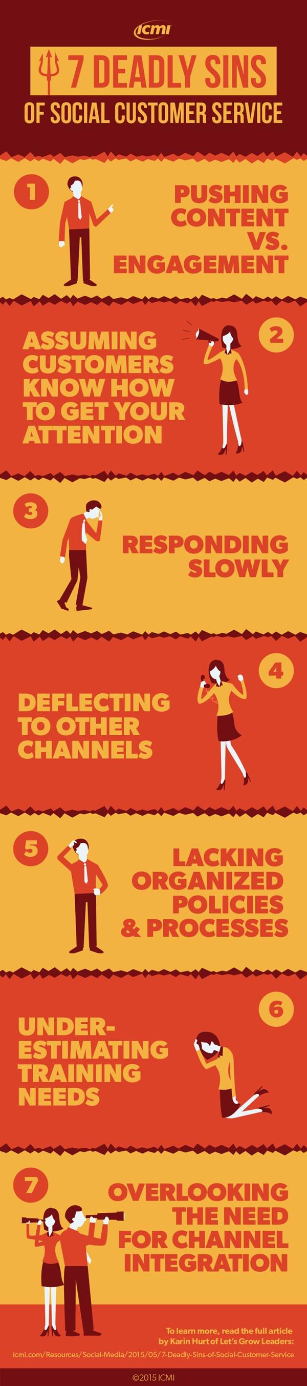 7 peccati customer service_infografica