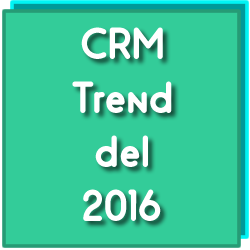 Trend crm 2016