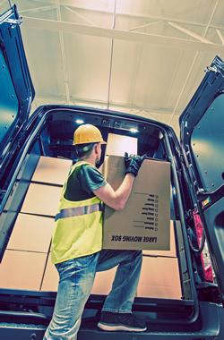 Consegna delivery spedizione