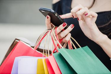 shopping online instore