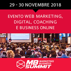 Al via la 3°edizione del  Marketing Business Summit